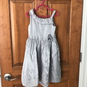 Silver Crazy 8 Dress